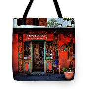 Taos Artisans Gallery Tote Bag by David Patterson