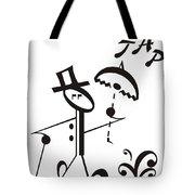 Tap Tote Bag by Maria Watt