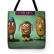 Tater Tots Tote Bag by Leah Saulnier The Painting Maniac