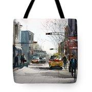 Taxi Tote Bag by Ryan Radke
