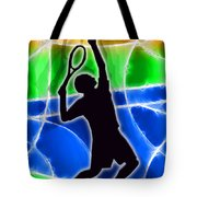 Tennis Tote Bag by Stephen Younts
