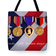 Thanks Dad - You Were Always My Hero Tote Bag by James BO  Insogna