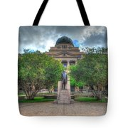 The Academic Building Tote Bag by David Morefield