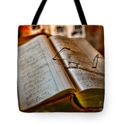 The Accountant's Ledger Tote Bag by Paul Ward