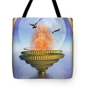 The Ace Of Cups Tote Bag by John Edwards