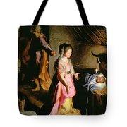 The Adoration Of The Child Tote Bag by Federico Fiori Barocci or Baroccio