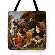 The Adoration Of The Magi Tote Bag by Jacob Jordaens