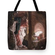 The Adoration Of The Wise Men Tote Bag by Tissot