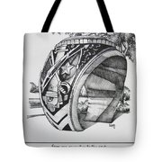 The Aggie Ring Tote Bag by Barbara Gilroy