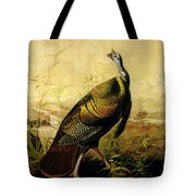 The American Wild Turkey Cock Tote Bag by John James Audubon