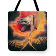 The Ancient of Days Tote Bag by William Blake