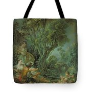 The Angler Tote Bag by Francois Boucher