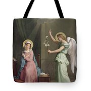 The Annunciation Tote Bag by Auguste Pichon