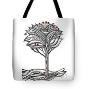 The Apple Tree Tote Bag by Aniko Hencz