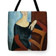 The Artist's Wife Tote Bag by Amedeo Modigliani