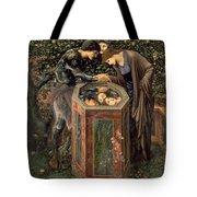 The Baleful Head Tote Bag by Sir Edward Burne-Jones