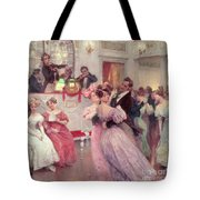 The Ball Tote Bag by Charles Wilda