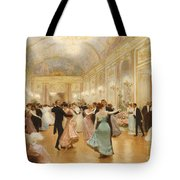 The Ball Tote Bag by Victor Gabriel Gilbert