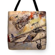 The Balloon Buster Tote Bag by Marc Stewart