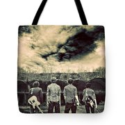 The Band Has Arrived Tote Bag by Meirion Matthias