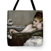 The Bath Tote Bag by Alfred George Stevens