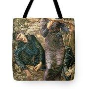 The Beguiling of Merlin Tote Bag by Sir Edward Burne-Jones