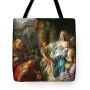 The Beheading Of Cyrus IIi Tote Bag by Jean Simon Berthelemy
