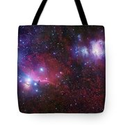 The Belt Stars Of Orion Tote Bag by Robert Gendler