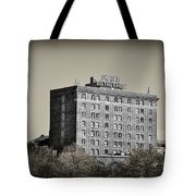 The Bethlehem Hotel Tote Bag by Bill Cannon