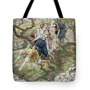 The Blind Leading The Blind Tote Bag by Tissot
