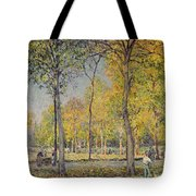 The Bois De Boulogne Tote Bag by Alfred Sisley