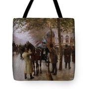 The Boulevards Tote Bag by Jean Beraud