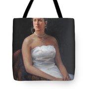 The Bride Tote Bag by Dianne Panarelli Miller