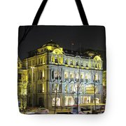 The Bund - Shanghai's signature strip of historic riverfront architecture Tote Bag by Christine Till