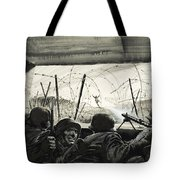 The Bunker  Tote Bag by Graham Coton