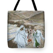 The Calling Of St. Andrew And St. John Tote Bag by Tissot