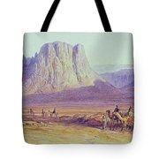 The Camel Train Tote Bag by Edward Lear