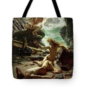 The Cave of the Storm Nymphs Tote Bag by Sir Edward John Poynter