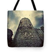 The Chapel Tower Tote Bag by Meirion Matthias