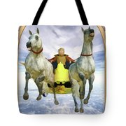 The Chariot Tote Bag by John Edwards