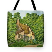 The Charm Of Wiltshire Tote Bag by Charlotte Blanchard