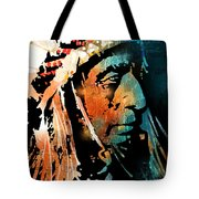 The Chief Tote Bag by Paul Sachtleben