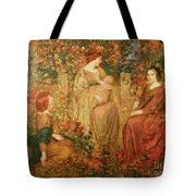 The Child Tote Bag by Thomas Edwin Mostyn