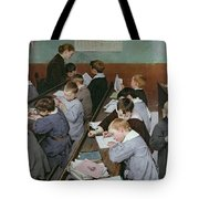 The Children's Class Tote Bag by Henri Jules Jean Geoffroy