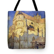 The Church At Moret Tote Bag by Alfred Sisley