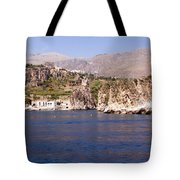 The coast of Zingaro reserve Tote Bag by Focus  Fotos