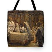 The Communion Of The Apostles Tote Bag by Tissot