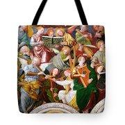 The Concert Of Angels Tote Bag by Gaudenzio Ferrari