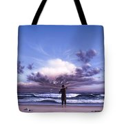 The Conductor Tote Bag by Jerry LoFaro
