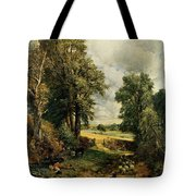 The Cornfield Tote Bag by John Constable